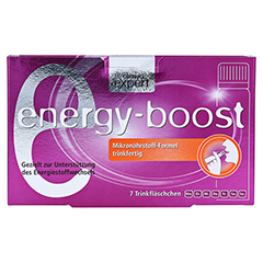 ENERGY-BOOST Orthoexpert Trinkampullen 7x25 Milliliter - Vorderseite