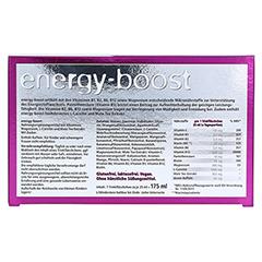 ENERGY-BOOST Orthoexpert Trinkampullen 7x25 Milliliter - Rückseite