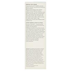 Ahava Mineral Foot Cream 100 Milliliter - Rückseite