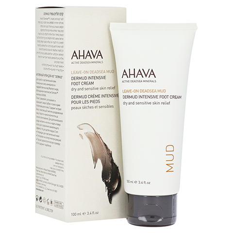 Ahava Dermud Intensive Foot Cream 100 Milliliter