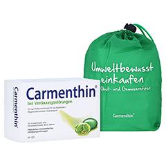 Carmenthin bei Verdauungsstörungen + gratis Carmenthin Obst - Gemüsenetz 84 Stück