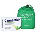 Carmenthin bei Verdauungsstörungen + gratis Carmenthin Obst - Gemüsenetz 42 Stück