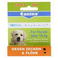 PETVITAL Novermin flüssig f.Hunde über 15 kg 4 Milliliter