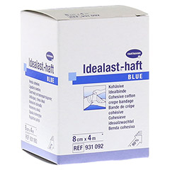 IDEALAST-haft color Binde 8 cmx4 m blau 1 Stück