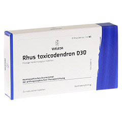 RHUS TOXICODENDRON D 30 Ampullen 8x1 Milliliter N1