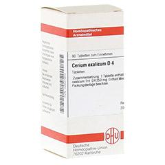 CERIUM OXALICUM D 4 Tabletten 80 Stück N1