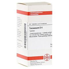 TARAXACUM D 4 Tabletten 80 Stück N1