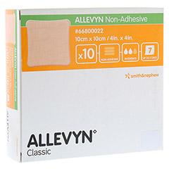 ALLEVYN non Adhesive 10x10 cm Wundverband 10 Stück