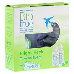 BIOTRUE All in one Lösung Flight Pack 2x60 Milliliter