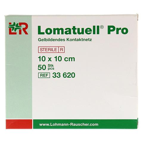 LOMATUELL Pro 10x10 cm steril 50 Stück