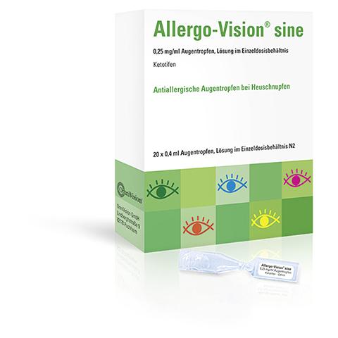 Allergo-Vision sine 0,25mg/ml Augentropfen 20x0.4 Milliliter N2