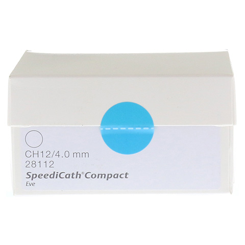 SPEEDICATH Compact Eve Katheter Ch 12 30 Stück