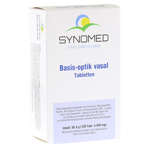 BASIS OPTIK vasal Tabletten 120 Stück