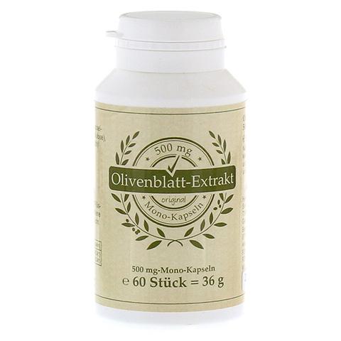 OLIVENBLATT-Extrakt 500 mg Mono-Kapseln 60 Stück