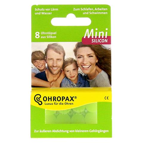 OHROPAX mini Silicon Ohrstöpsel 8 Stück