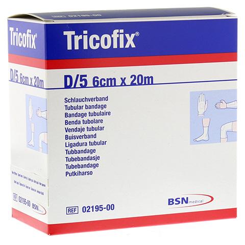 TRICOFIX Schlauchverband Gr.D 6 cmx20 m 1 Stück
