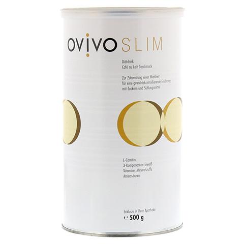 OVIVO SLIM Diätdrink Cafe au lait Pulver 500 Gramm