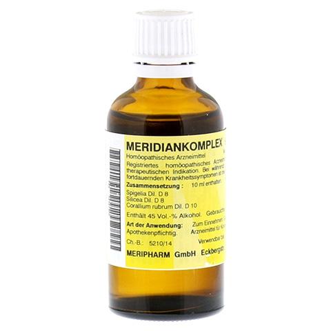 MERIDIANKOMPLEX 9 Tropfen zum Einnehmen 50 Milliliter N1