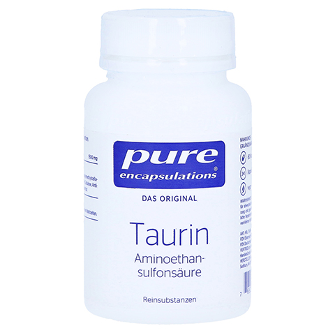 PURE ENCAPSULATIONS Taurin Kapseln 60 Stück