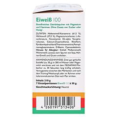 EIWEISS 100 Neutral Megamax Pulver 7x30 Gramm - Linke Seite