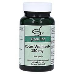 ROTES WEINLAUB 150 mg Kapseln 60 Stück