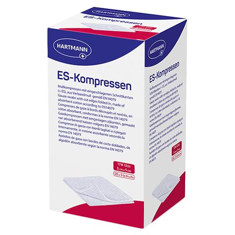 ES-KOMPRESSEN steril 5x5 cm 12fach Großpackung 20x5 Stück