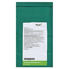 Frauenmantelkraut Tee 250 Gramm - Rückseite