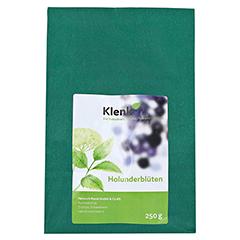 Holunderblüten Tee 250 Gramm - Vorderseite