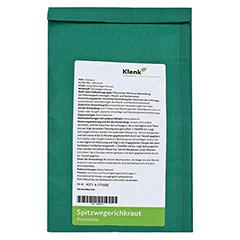 SPITZWEGERICHKRAUT Tee 250 Gramm - Rückseite
