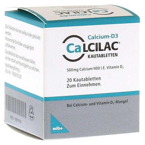Calcilac 500mg/400 I.E. 20 Stück N1