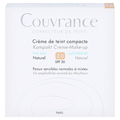 Avène Couvrance Kompakt Creme-Make-up matt naturel 10 Gramm - Vorderseite