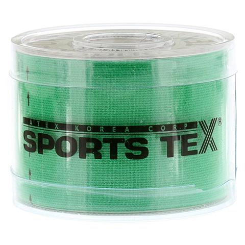 SPORTS TEX Kinesiologie Tape 5 cmx5 m grün 1 Stück