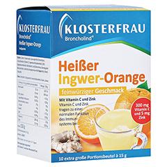 KLOSTERFRAU Broncholind heißer Ingwer-Orange Gran. 10x15 Gramm
