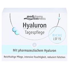 medipharma Hyaluron Tagespflege Riche LSF 15 50 Milliliter - Vorderseite