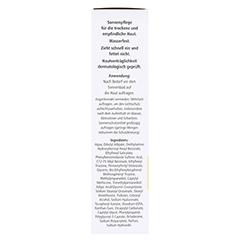 HYALURON SONNENPFLEGE Körper Creme LSF 50+ 150 Milliliter - Linke Seite
