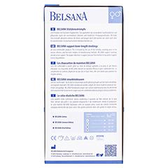 BELSANA Cotton Stütz-Kniestrumpf AD Gr.3 denim 2 Stück - Rückseite