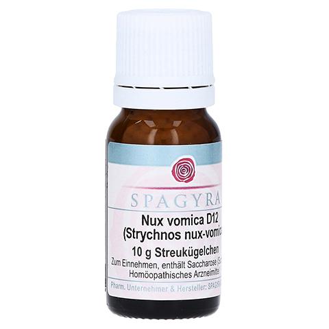 NUX VOMICA D 12 Globuli 10 Gramm N1