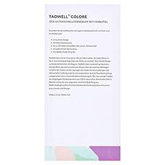 TAOWELL Colore Aromatherapie Nebler mit Farbspiel 1 Stück - Linke Seite