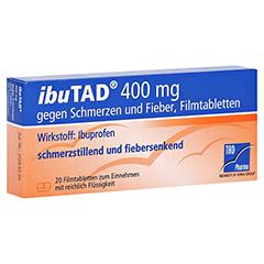 IbuTAD 400mg gegen Schmerzen und Fieber 20 Stück
