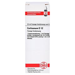 CORTISONUM D 12 Dilution 20 Milliliter N1 - Vorderseite