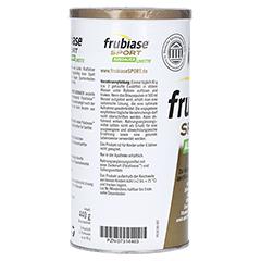FRUBIASE SPORT Ausdauer Brausepulver 440 Gramm - Rückseite