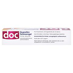Doc Ibuprofen Schmerzgel 5% 150 Gramm N3 - Oberseite