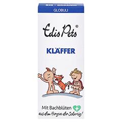 Edis Pets Kläffer Bio Bachblüten Globuli für Hunde 20 Gramm - Vorderseite