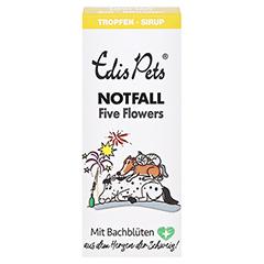 Edis Pets Five Flowers Notfalltropfen 20 Milliliter - Vorderseite