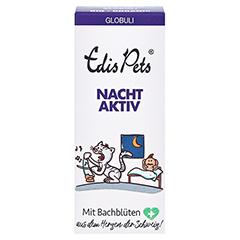 Edis Pets Nachtaktiv Bio Bachblüten Globuli für Katzen 20 Gramm - Vorderseite