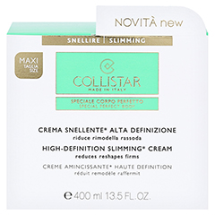 COLLISTAR High Definition Slimming Cream 400 Milliliter - Vorderseite