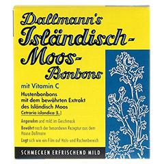 DALLMANN'S Isländisch Moos-Bonbons 20 Stück - Vorderseite
