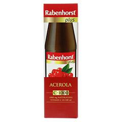 RABENHORST Acerola plus C 1000 Saft ungesüßt 450 Milliliter - Vorderseite