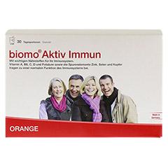 BIOMO Aktiv Immun Granulat 30 Stück - Vorderseite