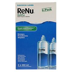 RENU MultiPlus 2er Pack Flaschen 2x360 Milliliter - Vorderseite